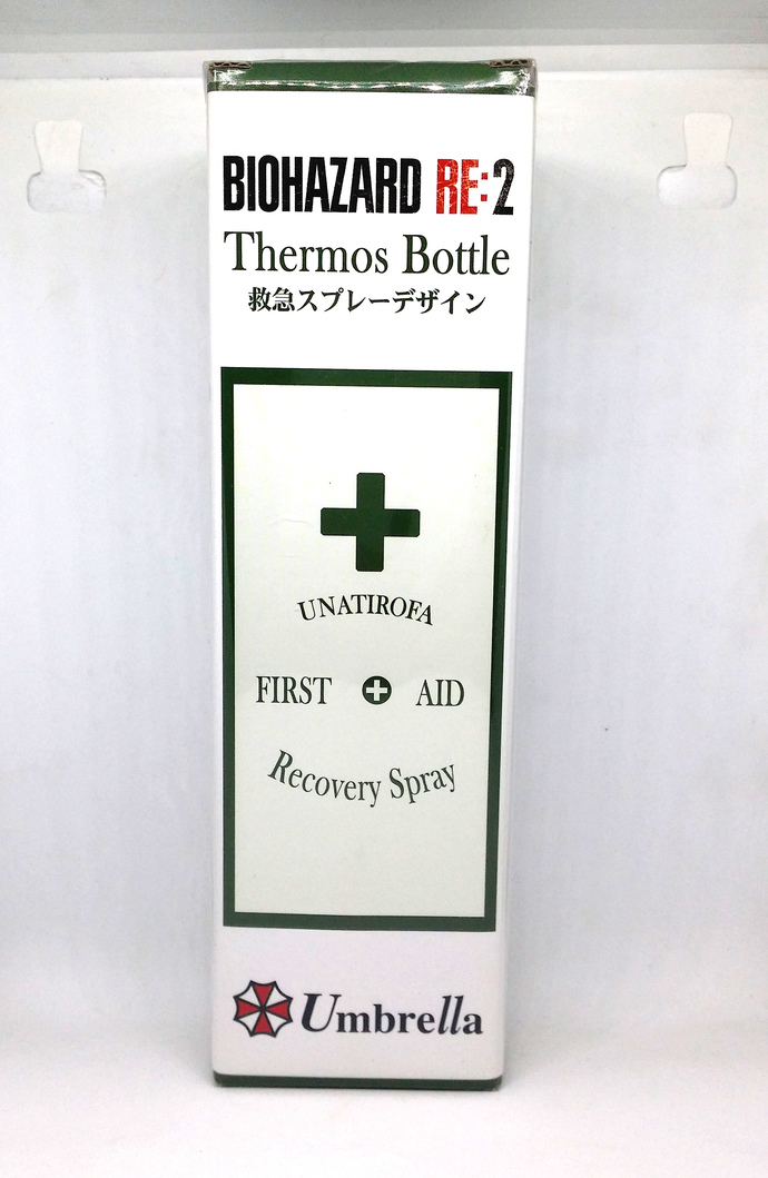 BIOHAZARD RE2 Thermos Bottle Emergency Spray Design - Capcom Japan Official