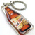 San Miguel Beer Bottle Double Sided Acrylic Keychain / Key Ring - New Unused