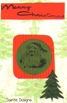 Jolly Old St. Nick Greeting Card