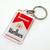 Marlboro Double Sided Acrylic Keychain / Key Ring - New Unused