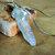 Angel Aura Crystal Point Choker, Silver Wire Wrap, Crystal Pendant