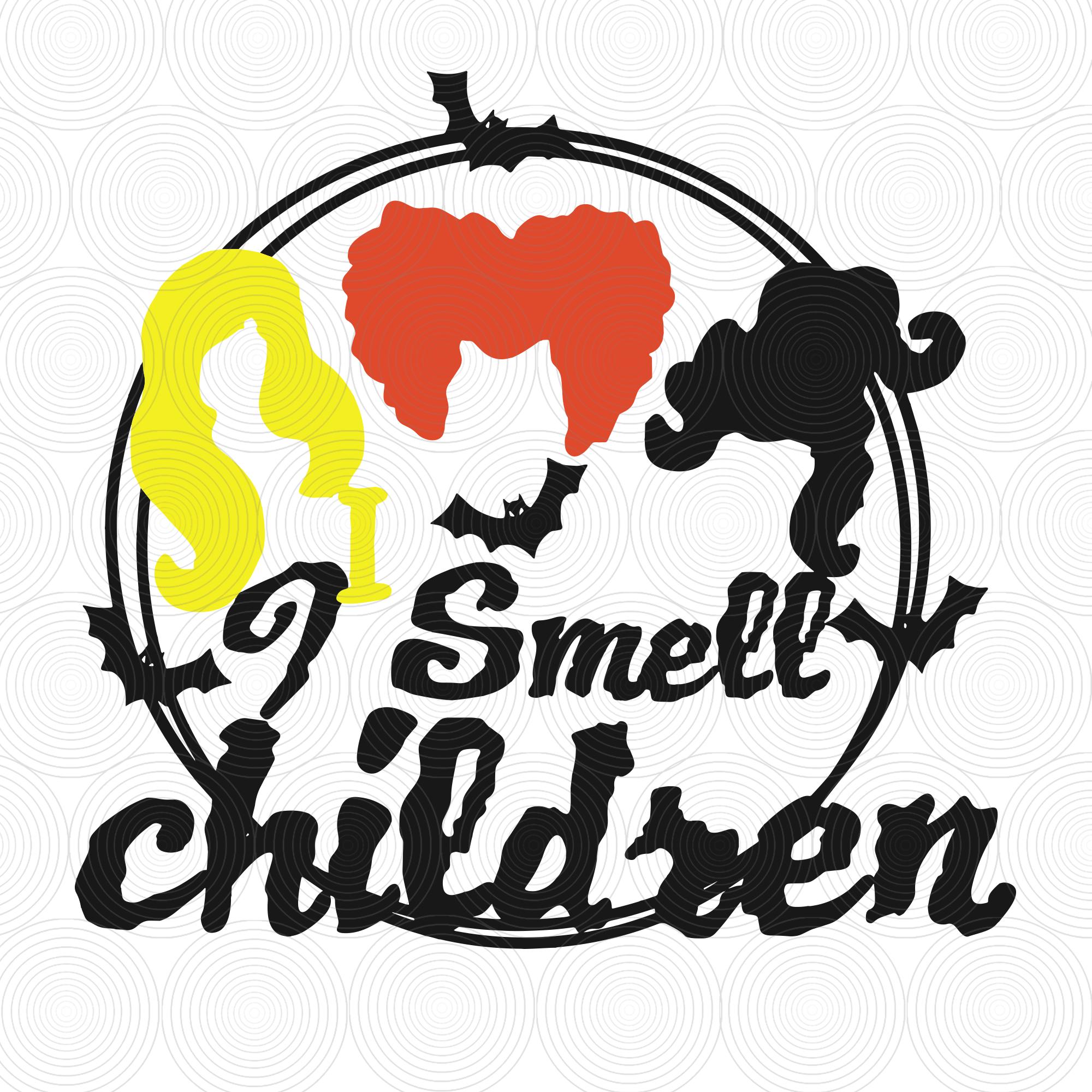 Eacher Halloween Svg I Smell Children Teacher By Digital4u On Zibbet