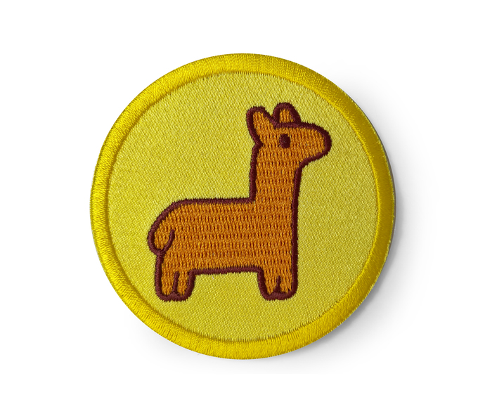 Gravity Falls Inspired Patch Pacifica Lama Embroidered Sew on