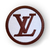 LV patch classic Louis Vuitton logo 2 inches