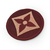 LV sign patch Lv symbol Brown Louis Vuitton logo 2 inches
