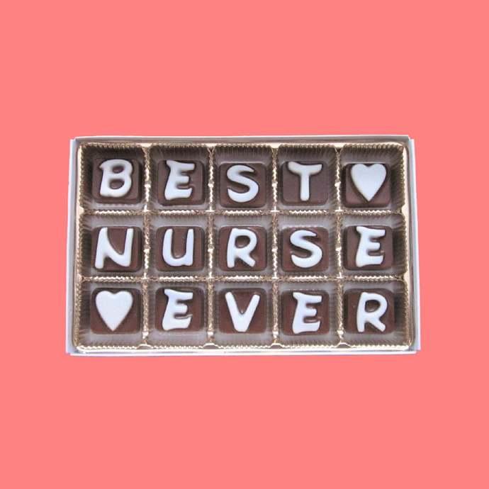 Thank You Nurse Gift Chocolate Nurse Appreciation Gift Nurse Mom Gift Nursing