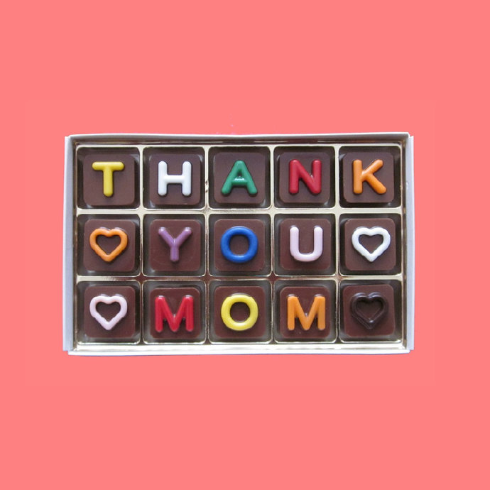 Thank You Mom Gift Chocolate Future Mother In Law Gift from Bride Grooms Mother