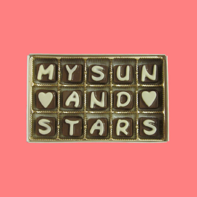 You Are My Sun And Stars Chocolate First Valentines Day Gift for Husband
