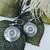 TSM Sterling Silver Domed Disc Earrings