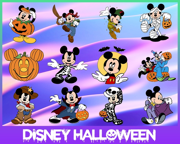 Disney Halloween svg,Halloween Mickey svg,Happy Halloween SVG,Disney Castle