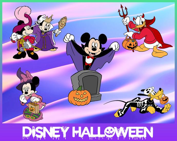 disney halloween svg, halloween svg, disney svg, mickey mouse svg, disney