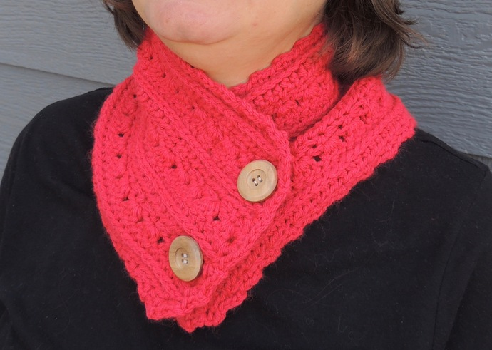 Crochet Cowl Scarf for Her