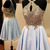 Princess Appliques Short Homecoming Dress, Elegant A Line Prom Dress