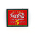 1990 Coca Cola Porcelain On Steel Refrigerator Magnet By Ande Rooney - Ice Cold