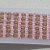 """Beaded Bracelet-Pink & Brown, right angle weave,7"""""""