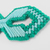 Double-Sided Fish Christmas Ornament Blue Green
