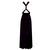 Infinity velvet dress Purple bridesmaid gown Plus size evening dress Maternity