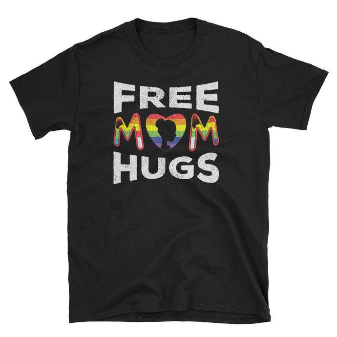 Free Mom Hugs Pride LGBT T shirt Gift, Free Mom Hugs t-shirt LGBT, Free Mom Hugs