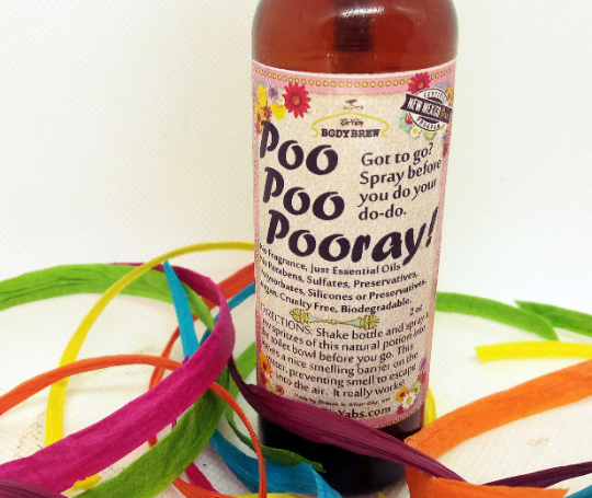 Poo Poo Pooray! Spray | Toilet Bowl Spray | No synthetic perfumes | Spray Before