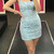 Sexy Straps Short Party Dress, Cute Blue Prom Dress
