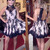 Halter Appliques Short Homecoming Dress, Cute A Line Prom Dress