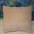 Crochet fluffy pillow