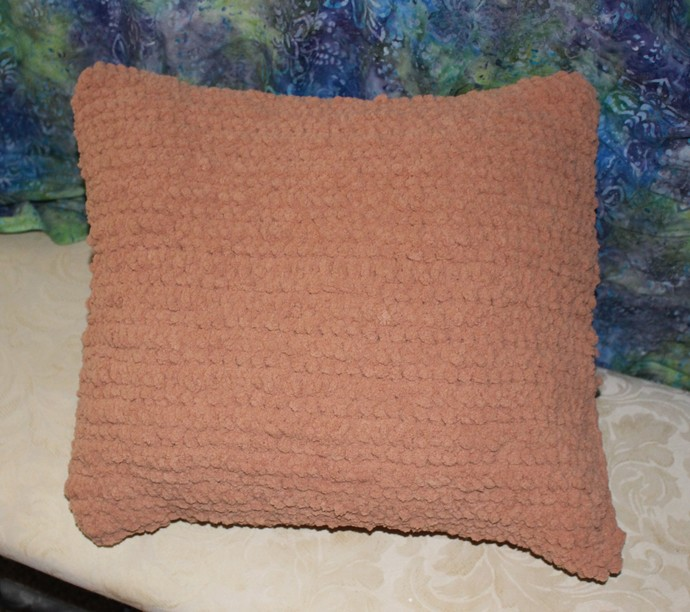 Pillow - crochet