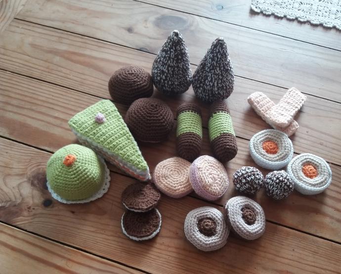 Cookies crocheted