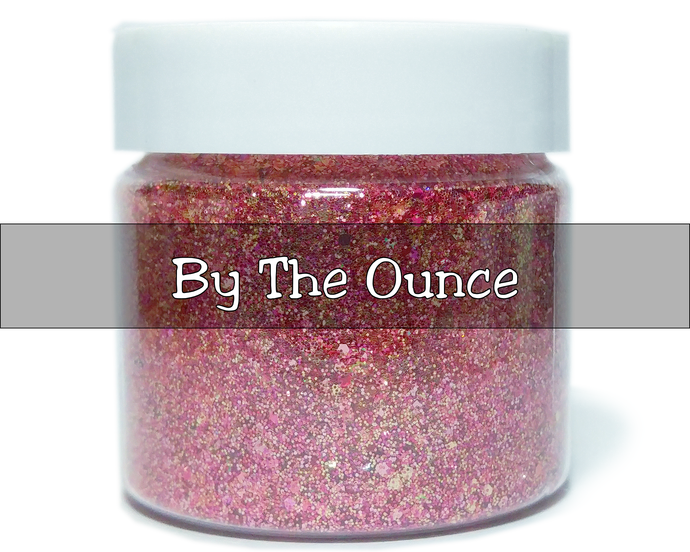 Pink Stiletto Heels - Metallic Chunky Loose Glitter Mix For Cosmetic and Craft