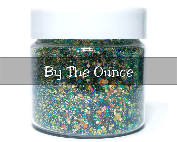 Swamp Thing - Metallic Chunky Loose Glitter Mix For Cosmetic and Craft Use