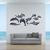"""Dolphins - Pod - Vinyl Wall Decal Set - Various Sizes on a 36"""" x 15"""" sheet -"""