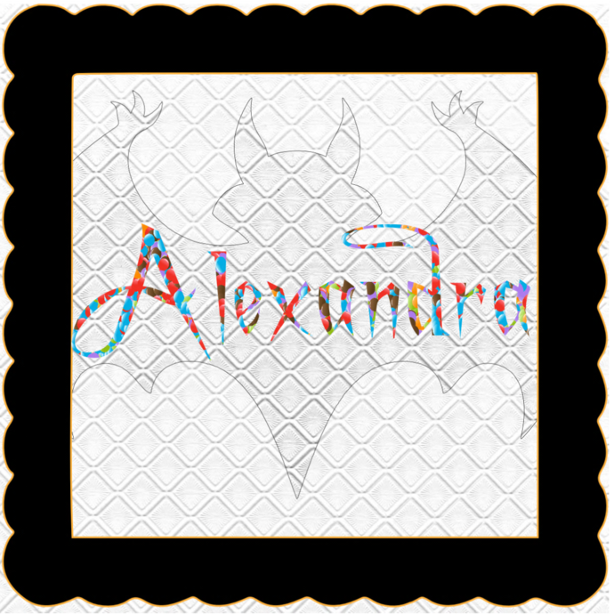 Candy Name Alexandra-Digital Kit-Jewelry Tag-Clipart-Gift Tag-Holiday-Digital