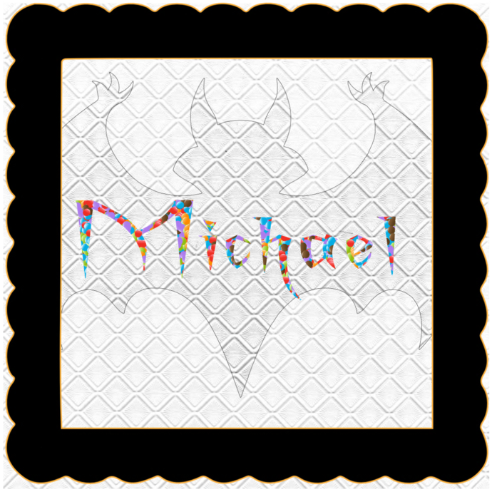 Candy Name Michael-Digital Kit-Jewelry Tag-Clipart-Gift Tag-Holiday-Digital