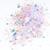 Hocus Pocus - Purple Mylar Flake and Iridescent Star Loose Glitter Mix