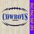 Dallas cowboys svg, cowboys pride svg, cowboys logo