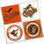 Baltimore Orioles Coasters - set of 4 tile coasters - MLB, baseball, league,