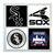 Chicago White Sox Coasters - set of 4 tile coasters - MLB, baseball, league,