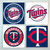 Minnesota Twins Coasters - set of 4 tile coasters - MLB, baseball, league, ball,