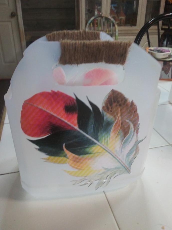 Feathered Basket