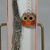 Handmade Dolphin Silver Coloured Bookmark With An Orange Owl In A Gift Box -