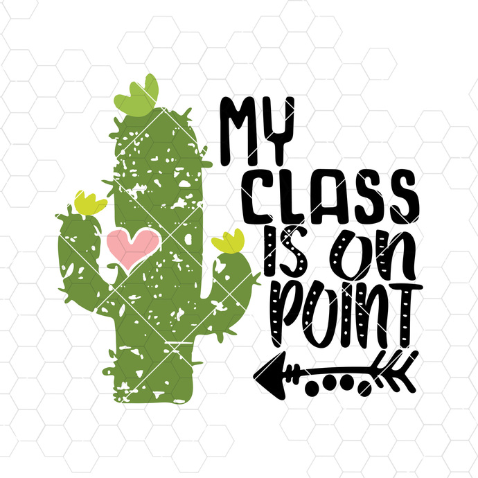 My Class is on point svg, Students SVG Teacher Distressed Grunge svg Test Day