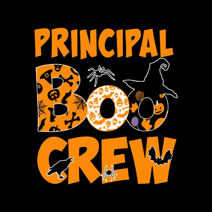 Principal boo crew svg,Boo Bees,Boo Bees Couples Halloween Costume Funny,Boo Bee