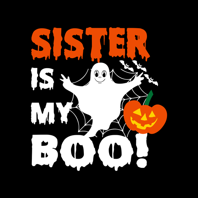 Sister is my boo,boo boo crew svg, boo boo crew tshirt,Boo bees svg, boo bees