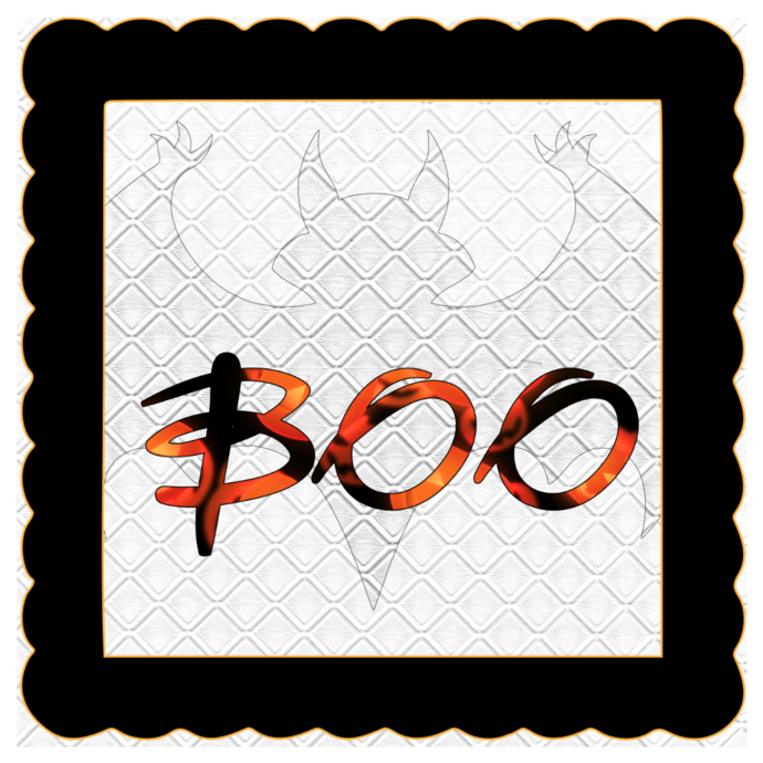 Boo Name B-Digital Kit-Jewelry Tag-Clipart-Gift Tag-Holiday-Digital