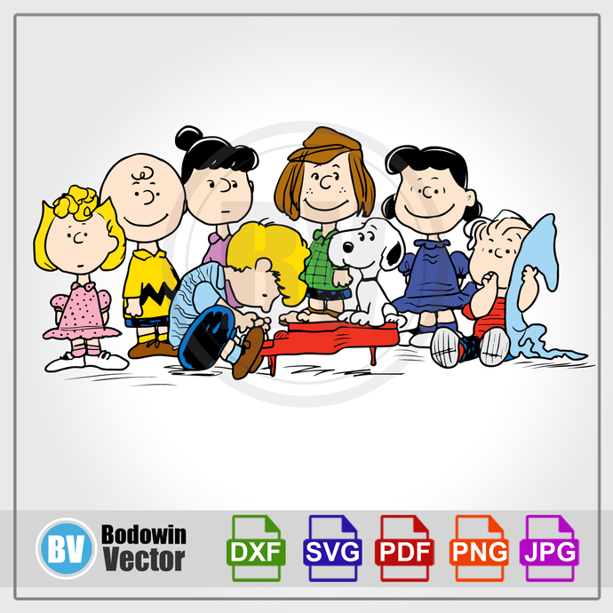 Peanuts SVG / Instant Download / Digital Clipart / Cutting Files / Cricut /