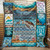 Ocean Quilt To my Daughter never forget that I love you Ocean Turtle Girl Quilt