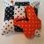 Polka-dot Orange Butterfly Pin Cushion