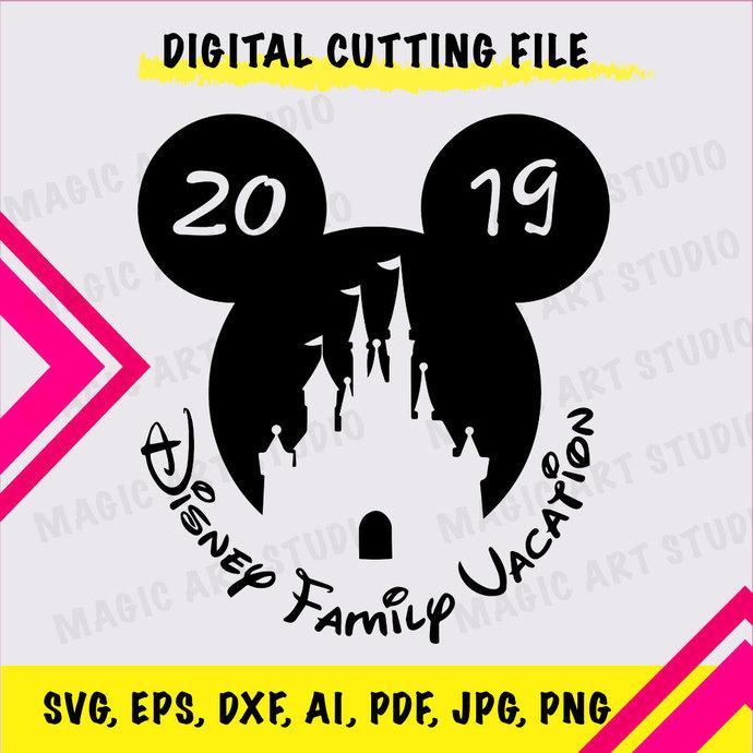 Disney family vocation INSTANT DOWNLOAD (SVG, eps, dxf, ai, pdf, jpg, png,