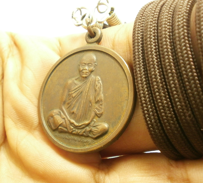 Helicopter batch magic pendant LP Koon Prisutto Banrai temple real powerful life