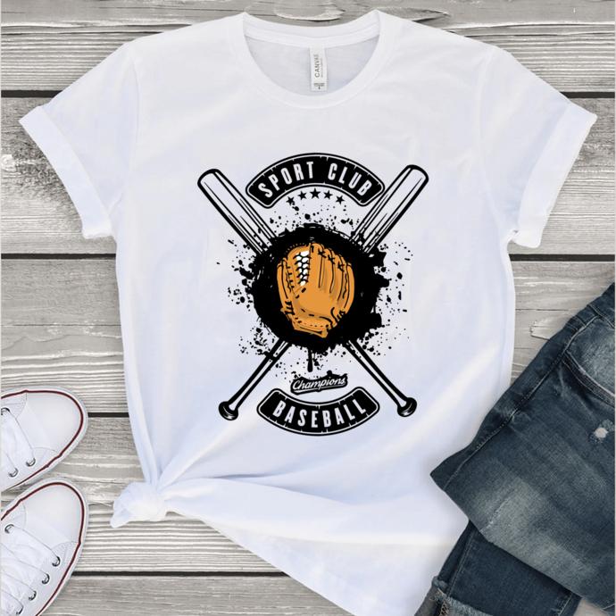 Sport club champions baseball, baseball svg,Baseball shirt, Baseball svg,